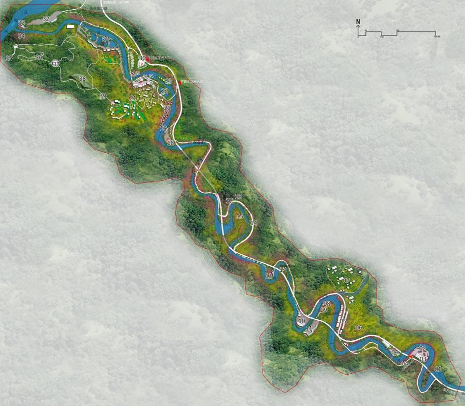 陕西省汉中市西乡县午子山-司上河漂流景区旅游总体规划 鉴远规划案例 2