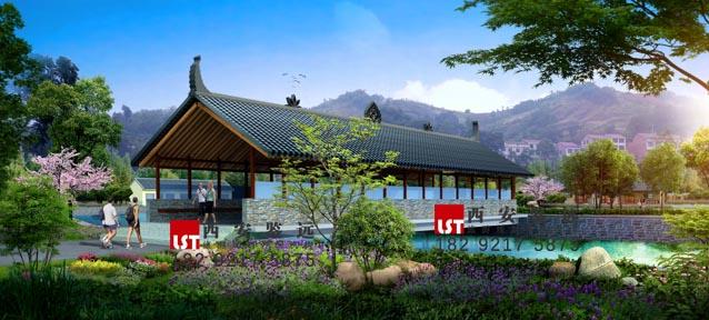 陕西省安康市汉阴县金龙湾生态农业休闲园规划设计 鉴远规划案例 3