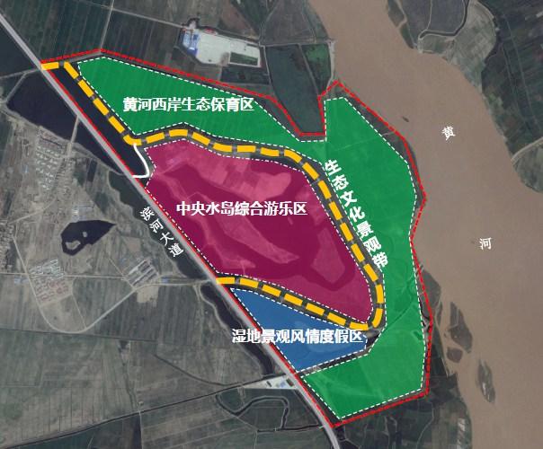 宁夏银川长河湾国际生态旅游区景区规划设计