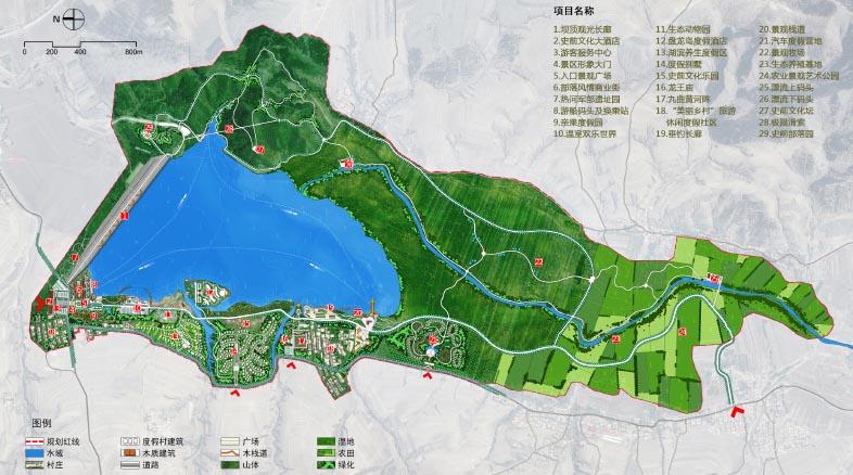 内蒙古赤峰市敖汉旗龙泽湖景区旅游总体规划 鉴远规划案例 2