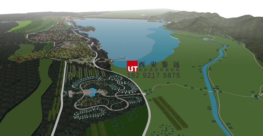 内蒙古赤峰市敖汉旗龙泽湖景区旅游总体规划 鉴远规划案例 3