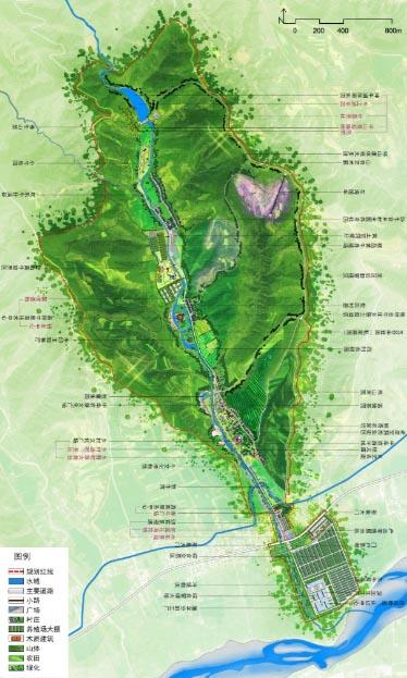 河南省洛阳市洛宁县坤牛牧场牛产业与文化融合发展示范园概念性规划 鉴远规划案例 2