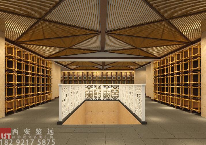 河南省洛阳市民俗艺术主题酒店改造设计 鉴远规划案例 2