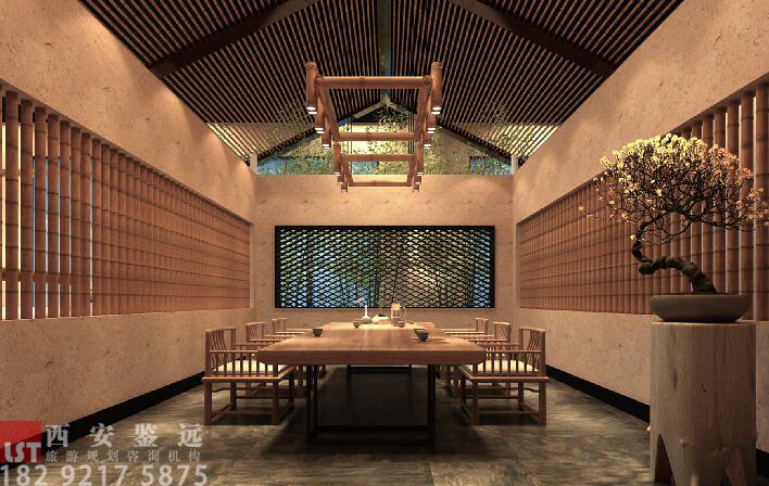 河南省洛阳市民俗艺术主题酒店改造设计 鉴远规划案例 3